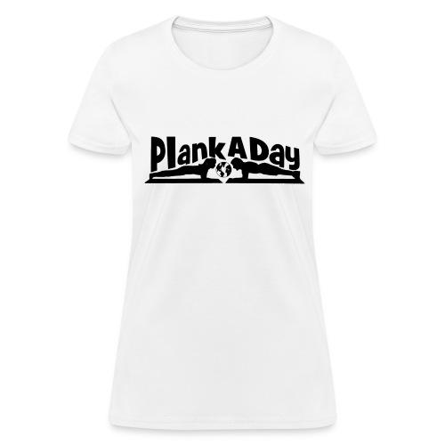PlankADay/'I'm a Planker' Womens T-shirt - Women's T-Shirt
