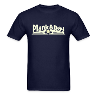 T-Shirts ~ Men's T-Shirt ~ PlankADay/'I'm a Planker' Men's Tee