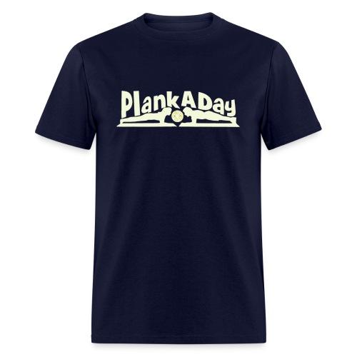 PlankADay/'I'm a Planker' Men's Tee - Men's T-Shirt