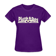 Women's T-Shirts ~ Women's T-Shirt ~ PlankADay/'I'm a Planker' Women's Tee