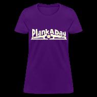 T-Shirts ~ Women's T-Shirt ~ PlankADay/'I'm a Planker' Women's Tee
