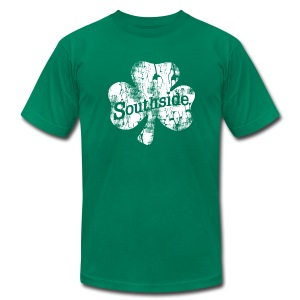 Southside Chicago Irish - Men's T-Shirt by American Apparel