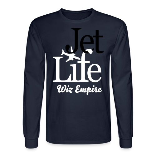 The Wiz Empire Jet Life Long Sleeve Shirt - Men's Long Sleeve T-Shirt