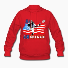 All American Football Field Goal Kicker Hoodies