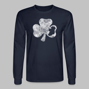 Ireland Shamrock - Men's Long Sleeve T-Shirt