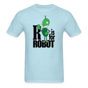 R is for Robot - Adult - Men's T-Shirt
