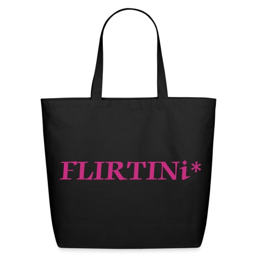 FLIRTINi* Tote Bag - Eco-Friendly Cotton Tote