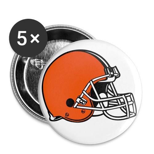 Football Helmet Button - Large Buttons