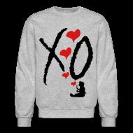 Long Sleeve Shirts ~ Men's Crewneck Sweatshirt ~ XO GIRL