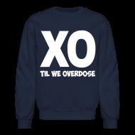 Long Sleeve Shirts ~ Men's Crewneck Sweatshirt ~ XO