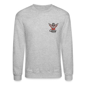 Two Sided, Y-Block Guy cutaway on back - Crewneck Sweatshirt