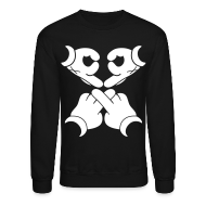 Long Sleeve Shirts ~ Men's Crewneck Sweatshirt ~ ovo