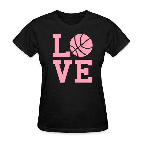 LOVE Basketball - Women's T-Shirt