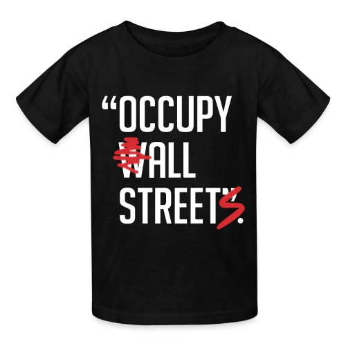 Occupy All Streets - Kids' T-Shirt