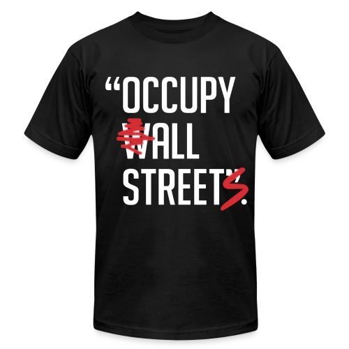 Occupy All Streets - Men's  Jersey T-Shirt