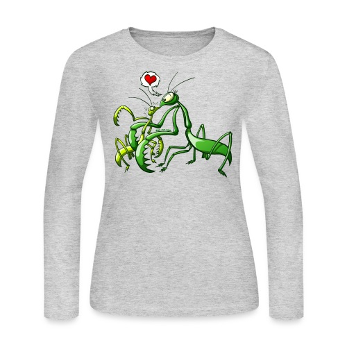 Pray, Love and Die - Women's Long Sleeve Jersey T-Shirt