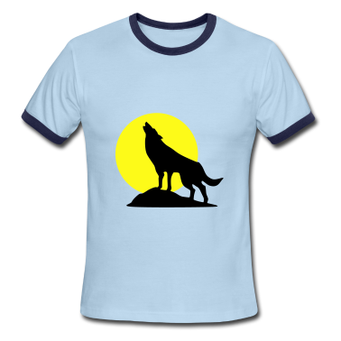 Wolf and Full Moon, Wolve T-Shirts