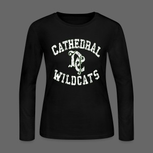 Detroit Cathedral - Women's Long Sleeve Jersey T-Shirt