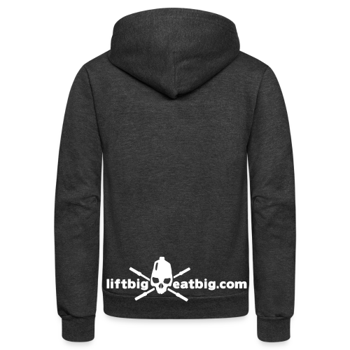 Simple logo - Unisex Fleece Zip Hoodie