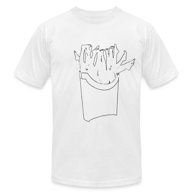 ccf28eef5 Freedom Fry | Fry Box Trace Mens AA Tee - Mens Jersey T-Shirt