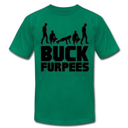 Men's Buck Furpees - Men's Fine Jersey T-Shirt
