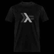 T-Shirts ~ Men's T-Shirt ~ Gray Haskell Logo