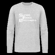 Long Sleeve Shirts ~ Men's Long Sleeve T-Shirt by American Apparel ~ SFB Men's Long Sleeve T-Shirt