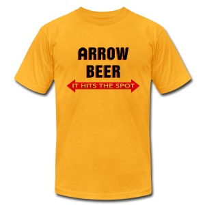Arrow Beer - Men's T-Shirt by American Apparel