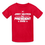 Kids' Shirts ~ Kids' T-Shirt ~ Jimmy Neutron for President