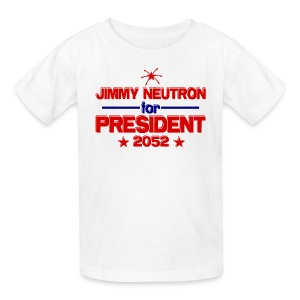 Jimmy Neutron for President - Kids' T-Shirt