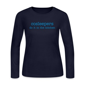 CoSleepers do it in the kitchen - Women's Long Sleeve Jersey T-Shirt