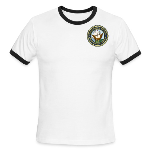 Men's U.S. Navy T-Shirt - Men's Ringer T-Shirt