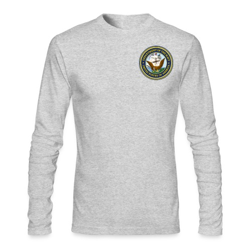 U.S. Navy Men's T-Shirt - Men's Long Sleeve T-Shirt by Next Level