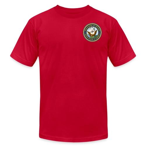 U.S. Navy Men's T-Shirt - Men's Fine Jersey T-Shirt