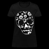 Women's T-Shirts ~ Women's T-Shirt ~ Womens Style Skull Street Style Fashion T-Shirt