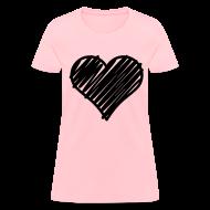 T-Shirts ~ Women's T-Shirt ~ Heart