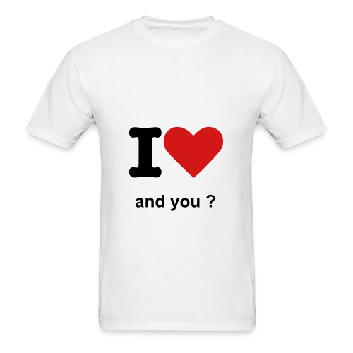 Love T-Shirt - Men's T-Shirt