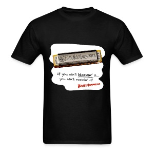 Blockin' harmonica tshirt - Men's T-Shirt