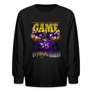 THE Gamewrecker Youth long - Kids' Long Sleeve T-Shirt