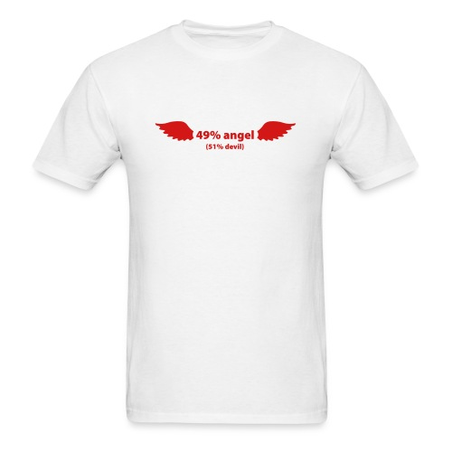 Angel / Devil - Men's T-Shirt