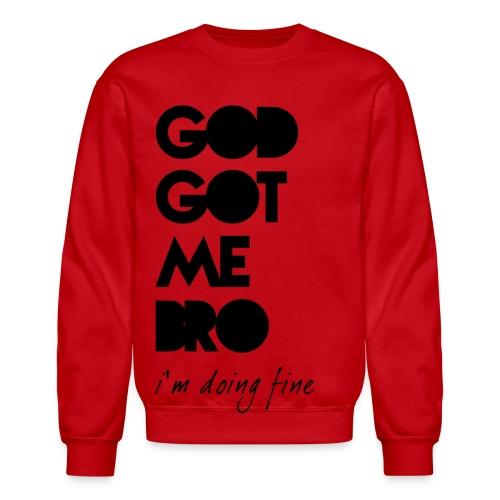 SSBS God Got Me Bro Crewneck - Crewneck Sweatshirt
