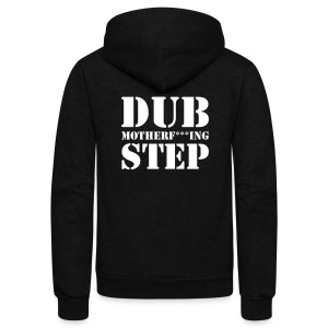Dubstep Unisex Zip Hoody - Unisex Fleece Zip Hoodie by American Apparel