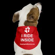 Other ~ Dog Bandana ~ Official Dogs Against Romney I Ride Inside Dog Bandana