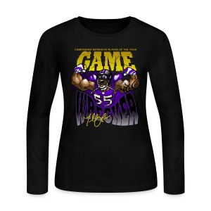 THE Gamewrecker Ladies long - Women's Long Sleeve Jersey T-Shirt