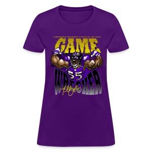 THE Gamewrecker Ladies Prpl - Women's T-Shirt