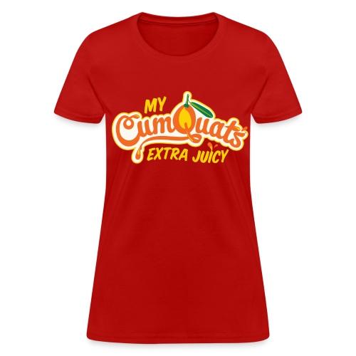 Extra Juicy (yellow) - Women's T-Shirt