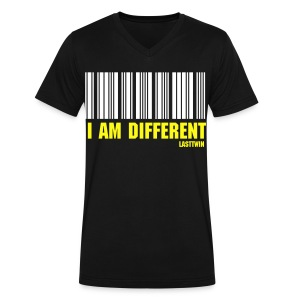 BORN DIFFERENT - Men's V-Neck T-Shirt by Canvas