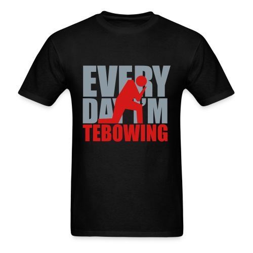 Every Day I'm Tebowing (R) - Men's T-Shirt