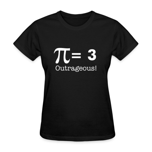 pi=3 - Women's T-Shirt