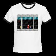 T-Shirts ~ Men's Ringer T-Shirt ~ SFB Men't Ringer T-Shirt with Link from Zelda